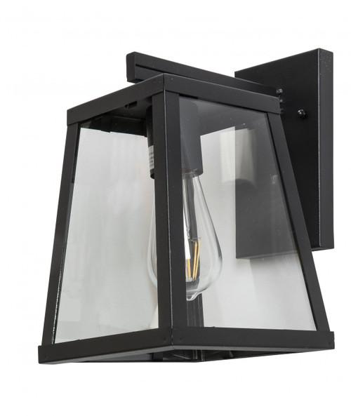 Mendoza Black Cage Outdoor Wall Light