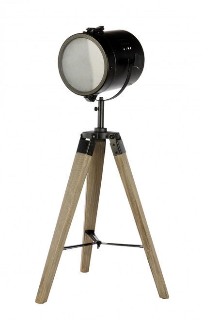 Caseros Studio Tripod Black Table Lamp
