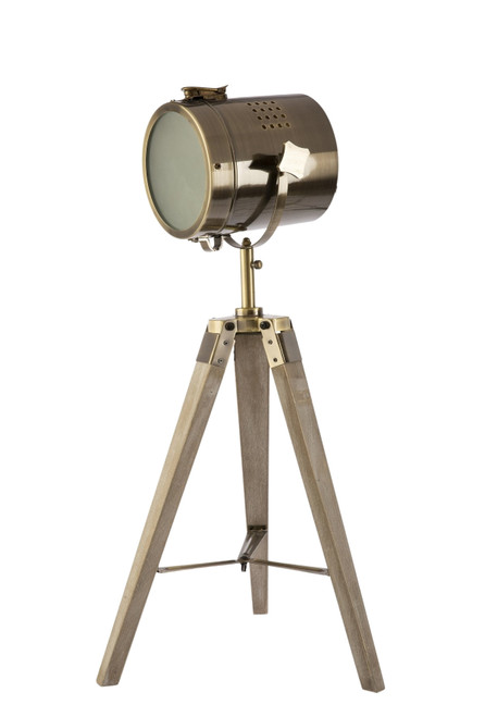 Caseros Studio Tripod Bronze Table Lamp