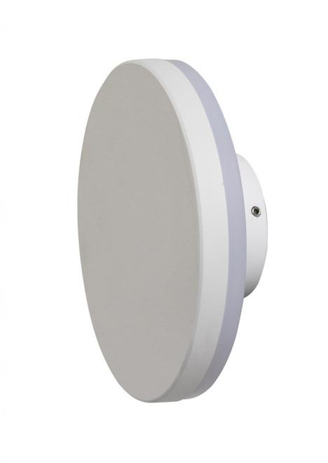Karson Round White LED Wall Light