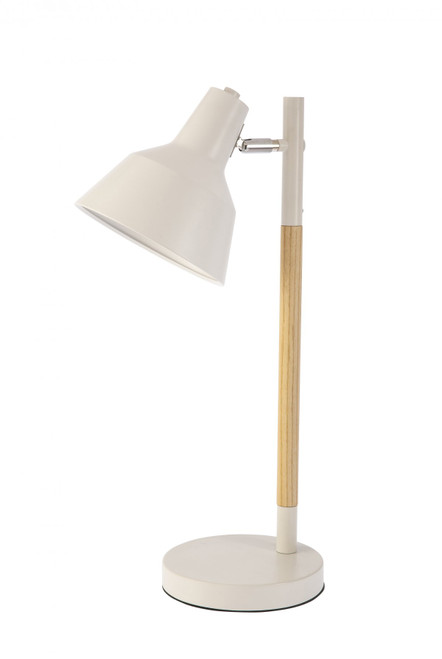 Pixie White Wood Table Lamp