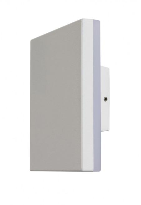 Karson Square White LED Wall Light