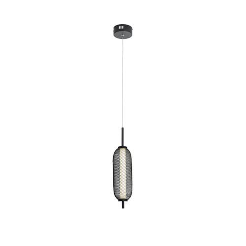 Balwin Medium Oval Black Industrial Pendant Light