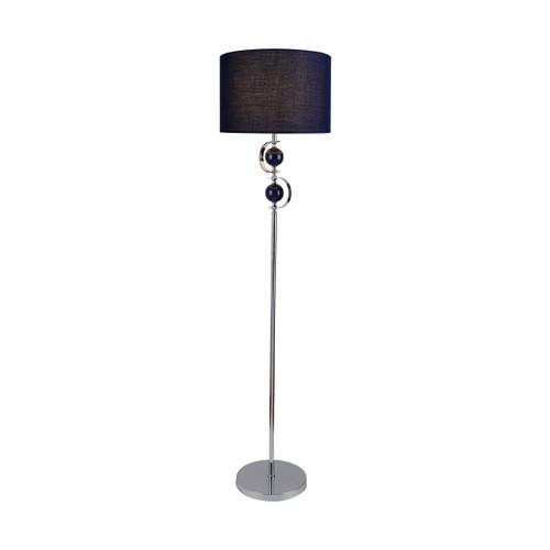 Rialto Navy Floor Lamp