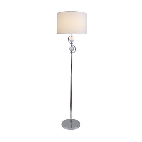 Rialto White Floor Lamp