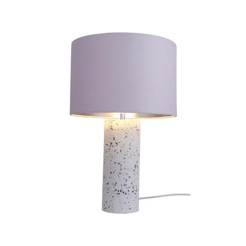 Britta White Terrazzo Table Lamp