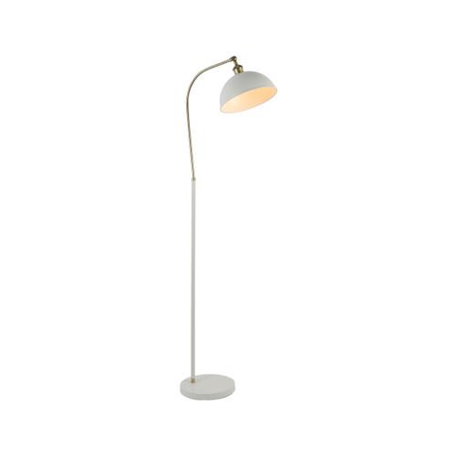 Lenna Dome Head Antique White Floor Lamp
