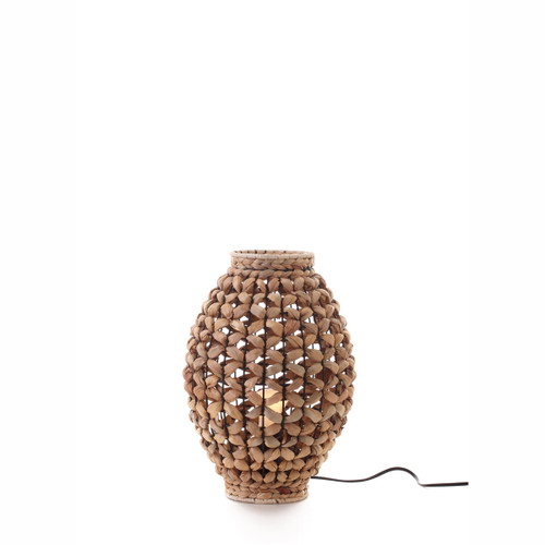 Alyn Water Hyacinth Table Lamp - Small