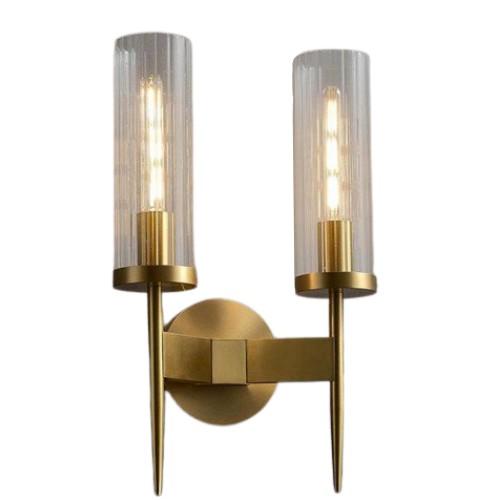 Replica Alouette 2 Light Brass Wall Sconce