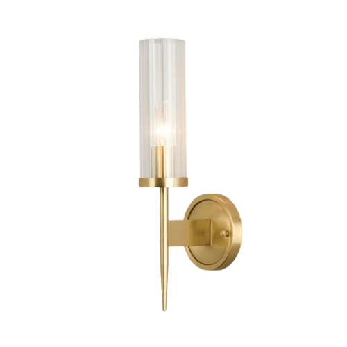 Replica Alouette 1 Light Brass Wall Sconce