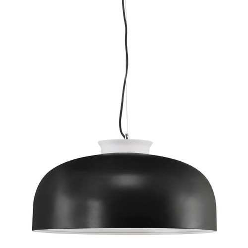 Miry Dome Black Up and Down Pendant Light
