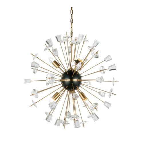 Harbin Crystal Sputnik Pendant Light