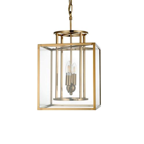 Clement Brass Glass Hampton Pendant Light