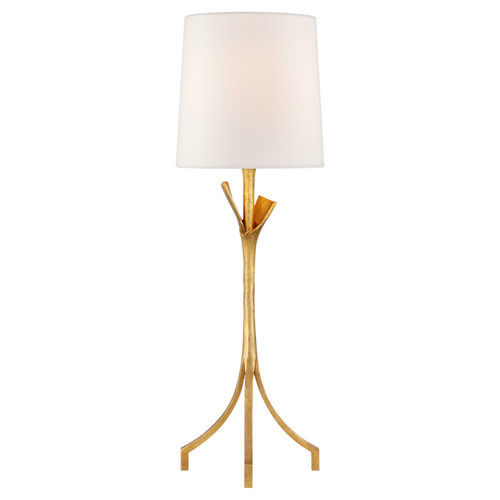 Fliana Gild Iron with Linen Shade Table Lamp