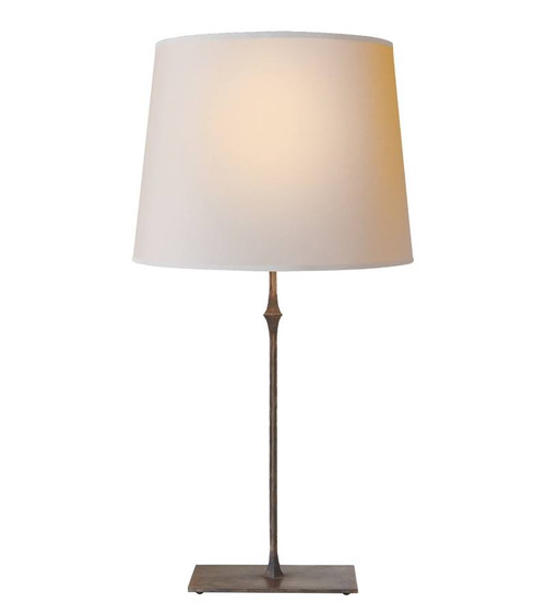 Dauphine Aged Iron with Empire Shade Table Lamp