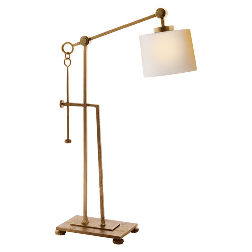 Aspen Forged Gilded Iron Rustic Adjustable Table Lamp