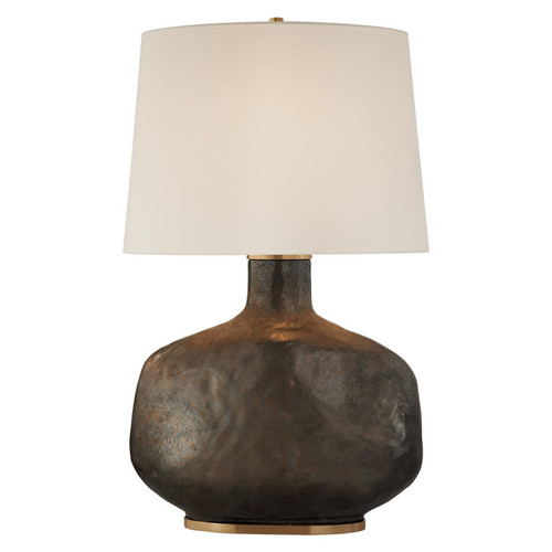 Beton Large Ceramic with Linen Shade - Crystal Bronze