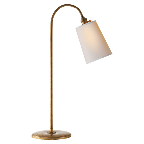 Mia Gilded Iron with Natural Paper Shade Table Lamp