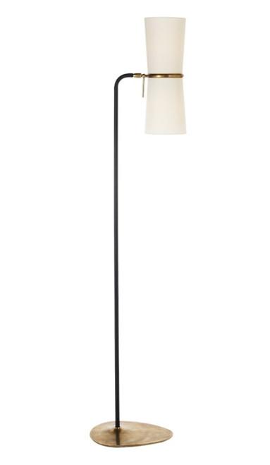 Clarkson Black with Shades Floor Lamp