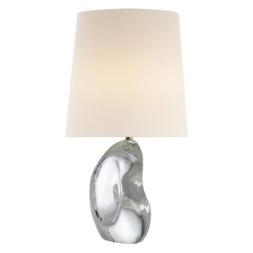 Lenoir Crystal with Linen Shade Table Lamp