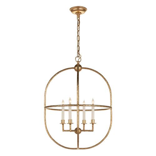 Desmond Gild Open Oval Lantern Pendant Light