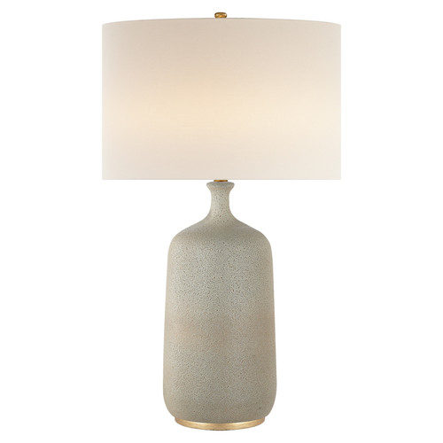 Culloden Volcanic Ivory with Linen Shade Table Lamp