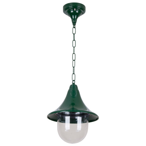 Moldova Moulded Acrylic Green Outdoor Pendant Light