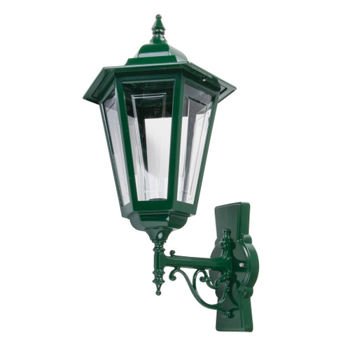 Tortona Acrylic Green Upward Outdoor Lantern Wall  Light