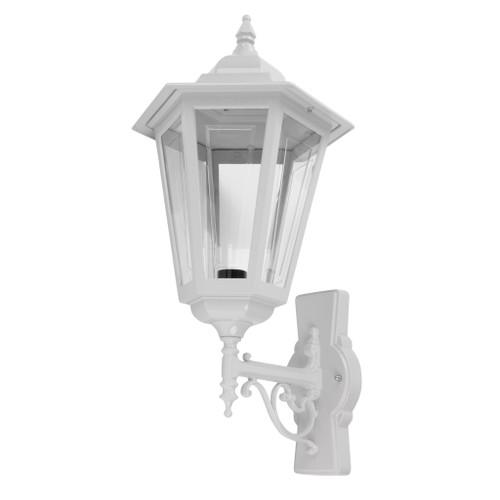 Tortona Acrylic White Upward Outdoor Lantern Wall Light