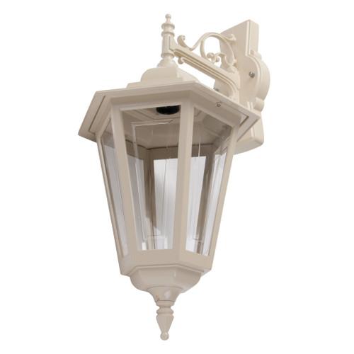 Tortona Acrylic Beige Downward Outdoor Lantern Wall Light