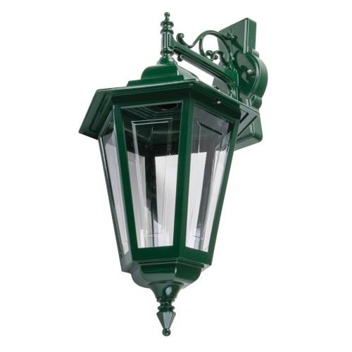 Tortona Acrylic Green Downward Outdoor Lantern Wall Light