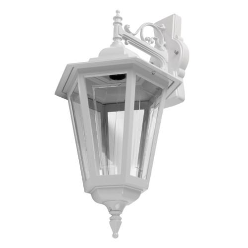 Tortona Acrylic White Downward Outdoor Lantern Wall Light
