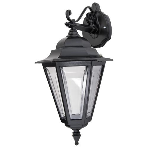 Tortona 2 Acrylic Black Downward Outdoor Lantern Wall Light