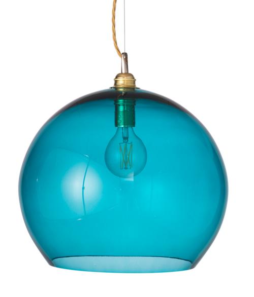 Rowan Dome Angry Sea Glass Pendant Light