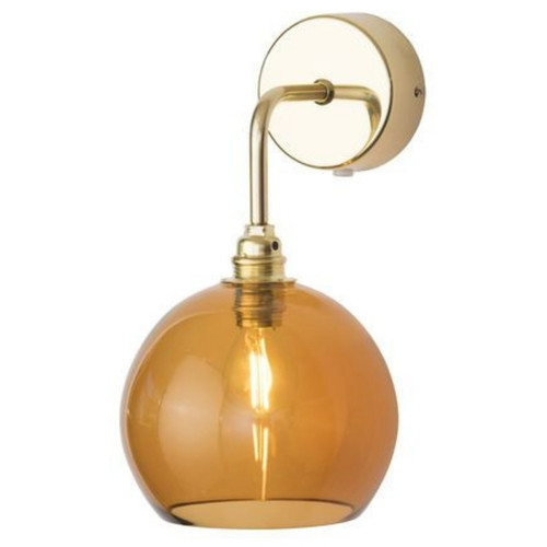 Rowan Dome Toast Glass Wall Light