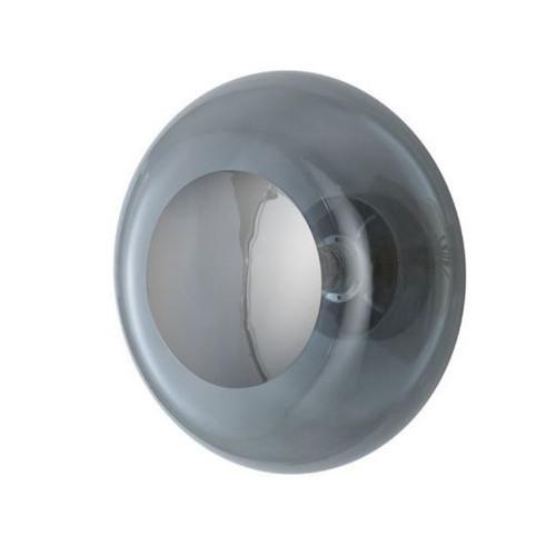 Horizon Smokey Grey Glass Ceiling/Wall Light