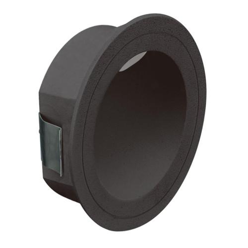 You Round Black Recessed LED Step Light