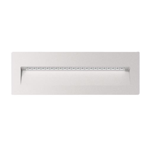 Zeth Long White Recessed LED Step Light