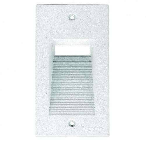 Quantum White Short Vertical Cover Step Light