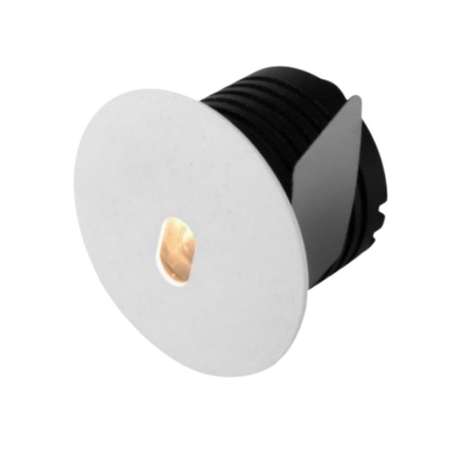 Vogue Round White Cree LED Recessed Step Light