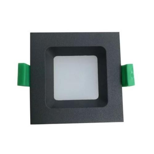 Helix Black LED Recessed Step Light