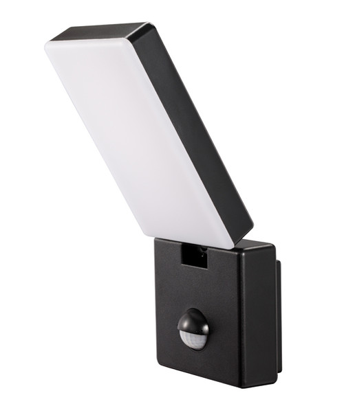 Surface Mounted Black LED Security Lights with Sensors