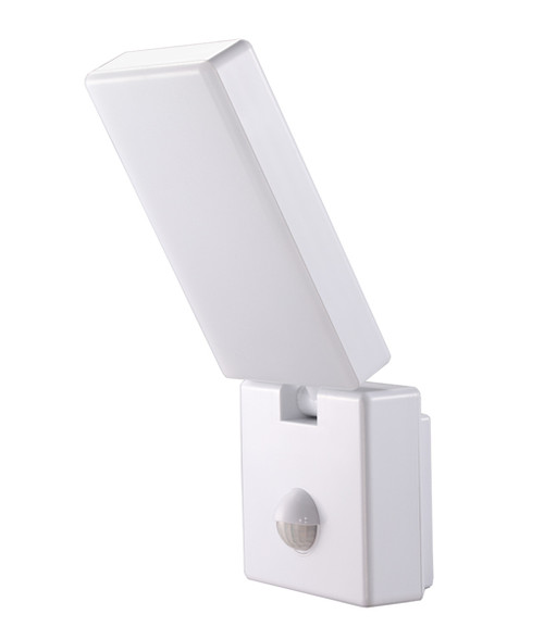 Surface Mounted White LED Security Lights with Sensors