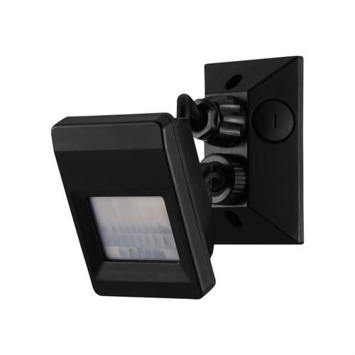 Detect Me 7 Black Motion Detector Security Light