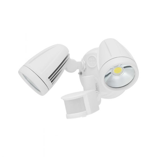 Chopper White 2 Heads Spot Tri Colour LED Security Light with Sensor