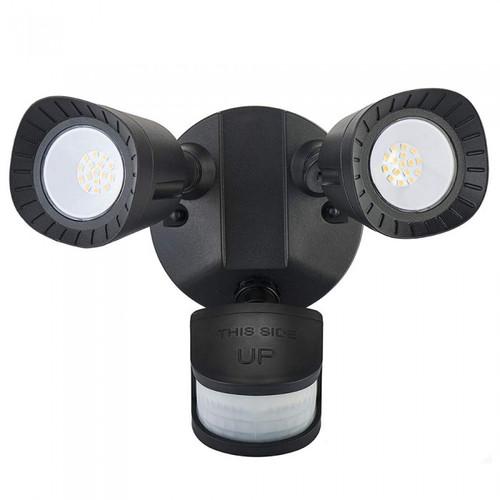 Twin Head PIR or Dusk to Dawn LED Security Light