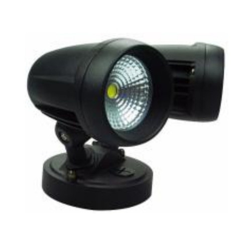 Mega Spot Twin Head Black LED Flood Security Light