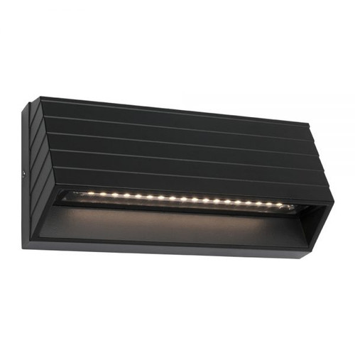 Calida Black Indoor/Outdoor LED Step Light