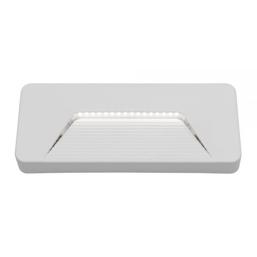 Jensen Rectangle White LED Step Light