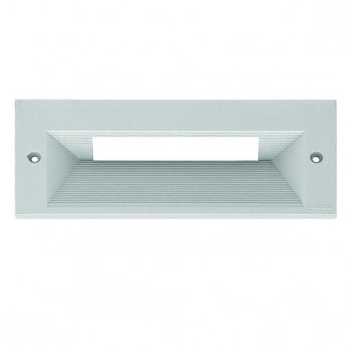Quantum Silver Grey Long Asymmetric Cover Step Light